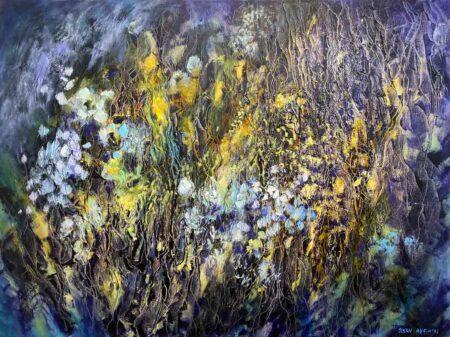 Susan Angwin Magic Garden Series Painting