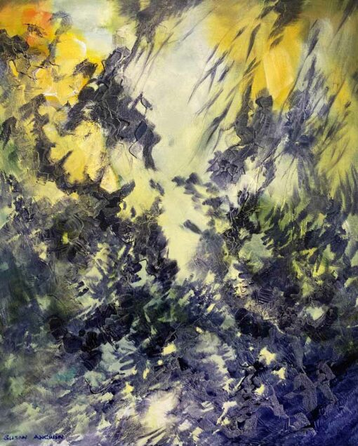 Susan Angwin Painting Cast Shadows I