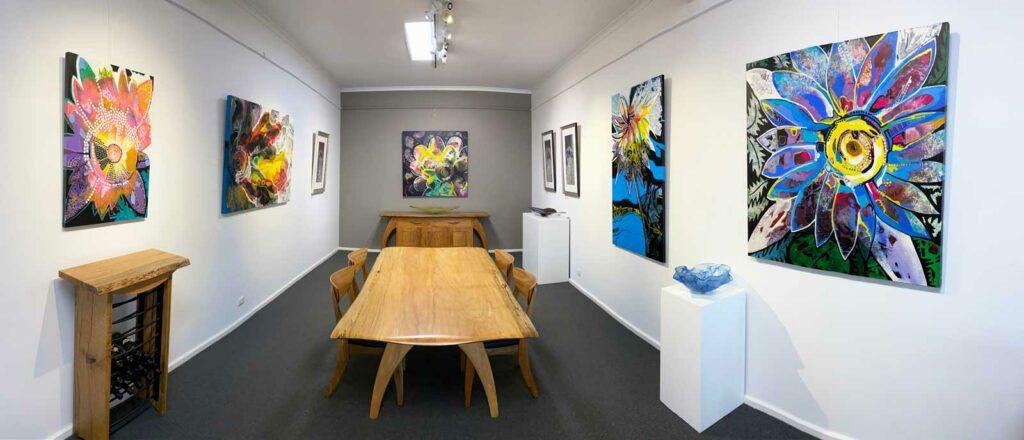 Astrid Dahl Natures Smiles Exhibition Panorama