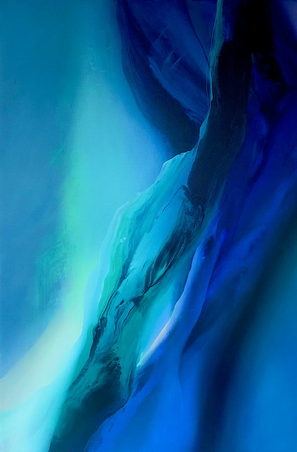 Liv Vardy Rain Painting Horizontal