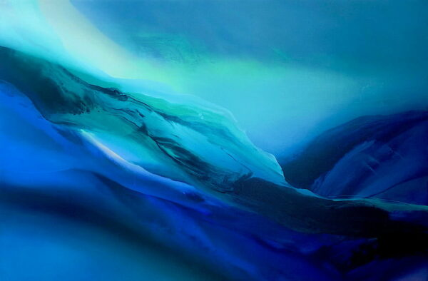 Liv Vardy Rain Painting Vertical