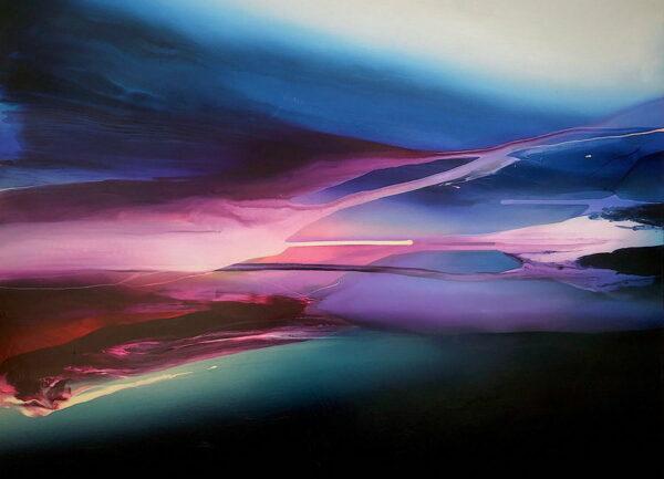 Liv Vardy Stillness Painting Vertical