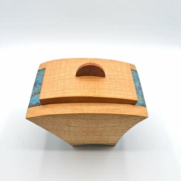 Andrew Potcnik Fiddle Back Mountain Ash Box