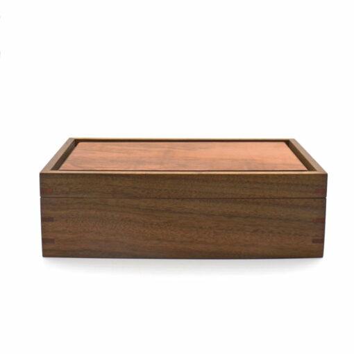 Andrew Potocnik Queensland Walnut Myrtle Wooden Box