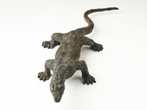 Brian Borschoff Monitor Lizard Sculpture