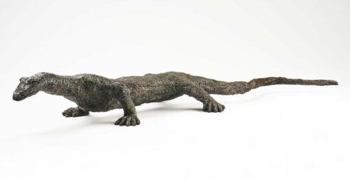 Brian Borschoff Monitor Lizard Sculpture Side