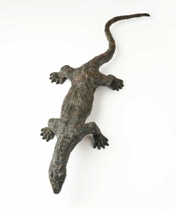 Brian Borschoff Monitor Lizard Sculpture Top