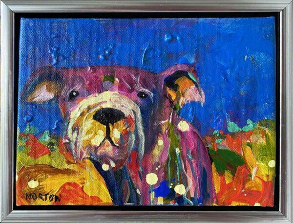 Helen Norton Mr Moustache Painting0