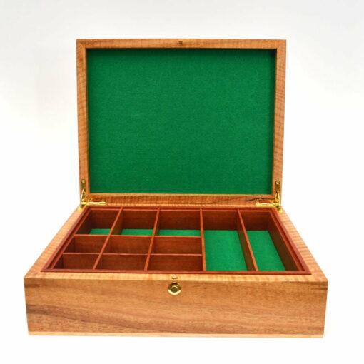 Jagath Prasantha Featured Inlay Collectors Document Box Open