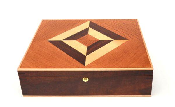 Jagath Prasantha Inlay Wooden Collectors Box