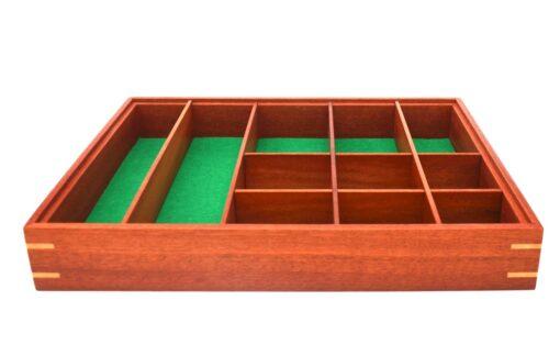 Jagath Prasantha Inlay Wooden Collectors Box Tray