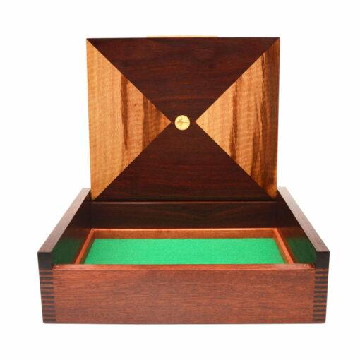 Jagath Prasantha Jarrah Collectors Box Open Empty
