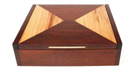 Jagath Prasantha Jarrah Collectors Box Top