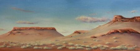 Shane Moad Early Morning Pilbara 2 Painting