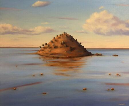 Shane Moad Small Hill Lake Ballard Painting