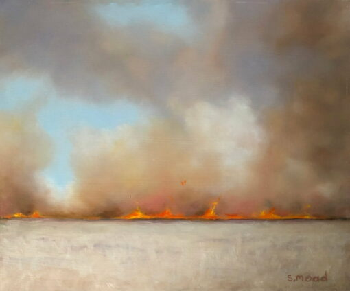 Shane Moad Stubble Fire Painting