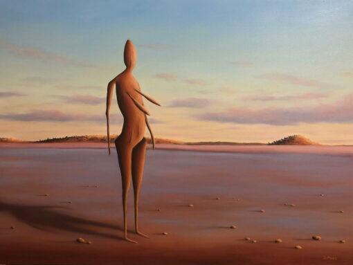 Shane Moad Woman Lake Ballard Painting