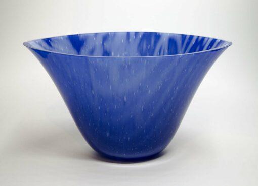 Silvana Ferrario Indigo Blue Of 1000 Years 11 Glass Bowl Siju4