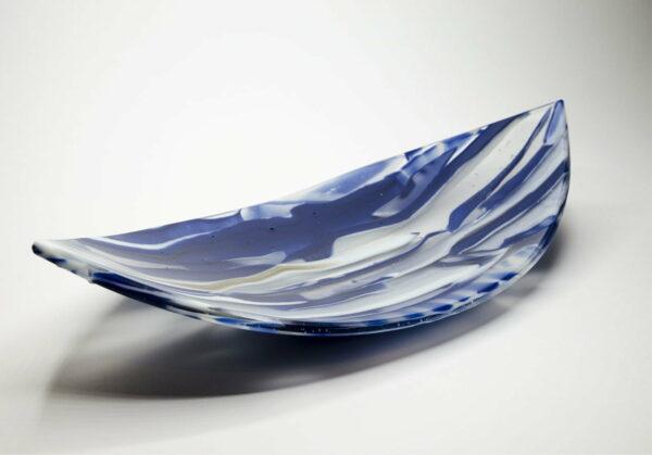 Silvana Ferrario Indigo Blue Of 1000 Years 19 Glass Plate Siju7