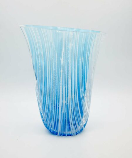 Silvana Ferrario Step Out Of Line 17 Glass Vase Siju13