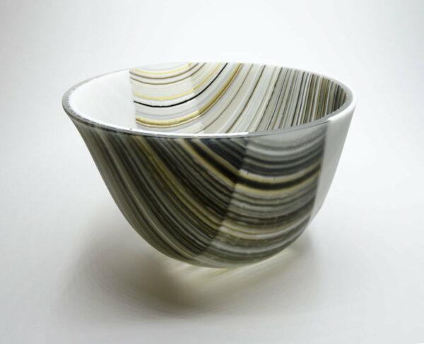 Silvana Ferrario Warp I Glass Bowl Siju21