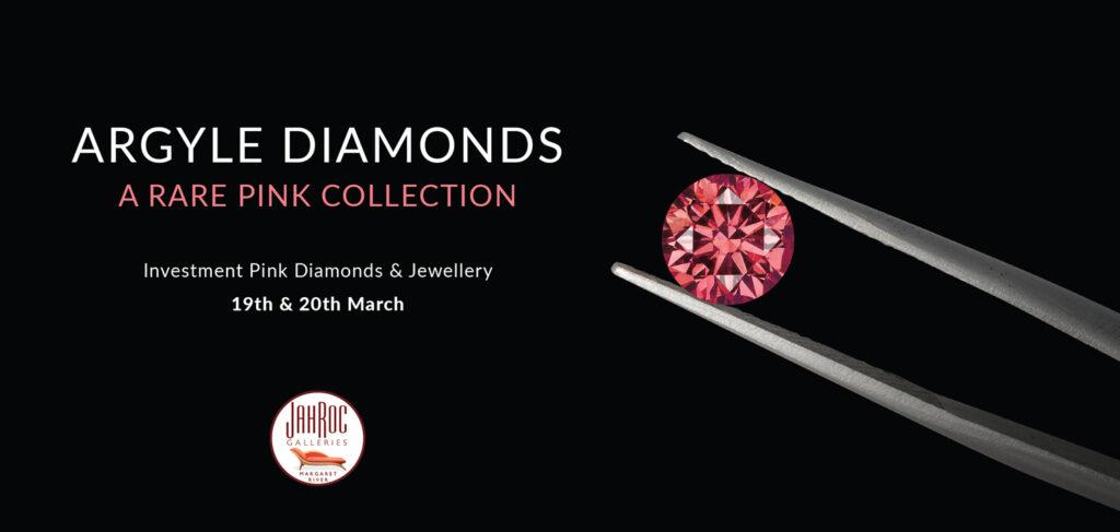 Argyle Pink Diamonds At Jahroc 19Th March 2021