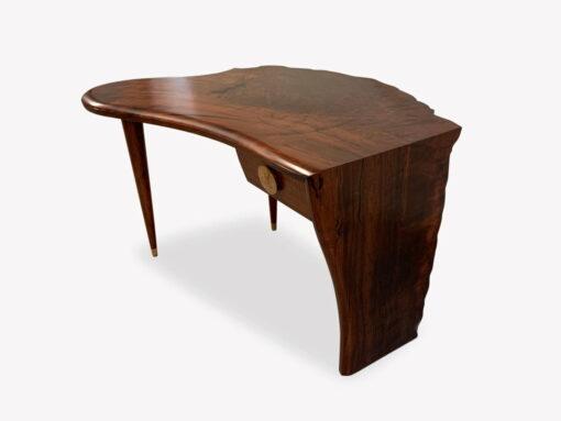 Cascade Jarrah Burl Writing Table By Jahroc Furniture 2