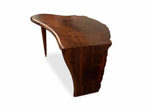 Cascade Jarrah Burl Writing Table By Jahroc Furniture Side