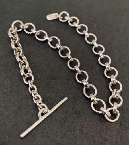 Emma Cotton Carved Fob Bracelet