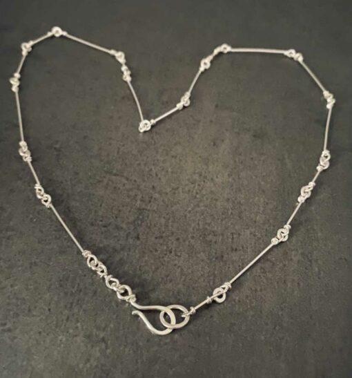 Emma Cotton Fragile Necklace