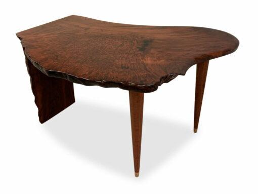 Cascade Jarrah Burl Writing Table Jahroc Furniture Back Top