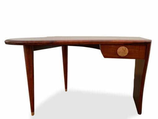Cascade Jarrah Burl Writing Table Jahroc Furniture Front