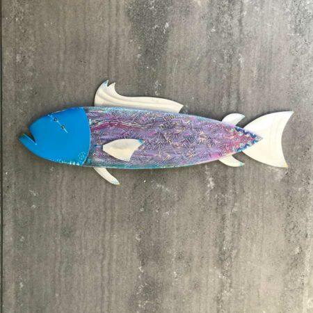 Gabe Heusso Bingo Bongo Fish Sculpture 1