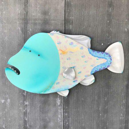 Gabe Heusso Juno Fish Sculpture 1
