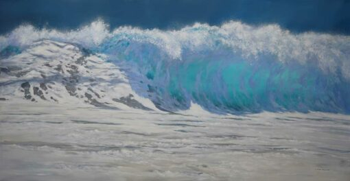 Leigh Hewson Bower The Wave Painting 1