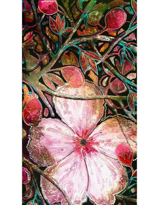 Astrid Dahl Cherry Blossom Painting