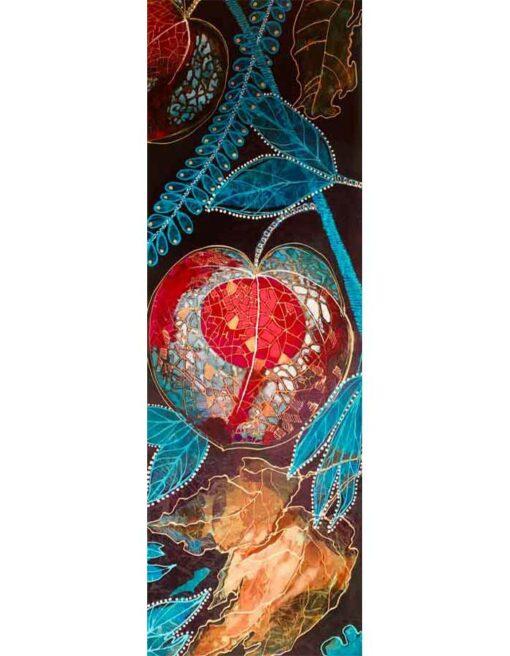 Astrid Dahl Red Lantern Painting 1