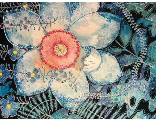 Astrid Dahl Sweet Magnolia I Love You Still Painting Copy
