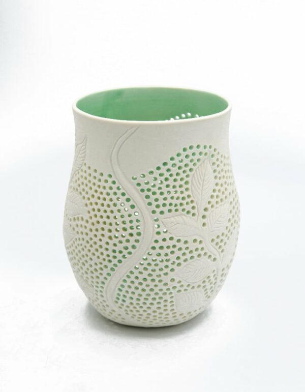 Dariya Gratte Small Seeweed Candle Holder Ceramics