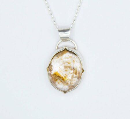 Eemma Cotton Looking Glass Pendant Jewellery
