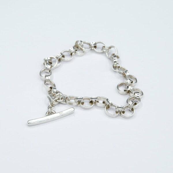 Emma Cotton Domed Fob Bracelet