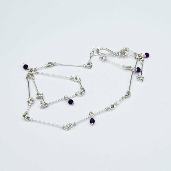 Emma Cotton Fragile Amethyst Jewellery