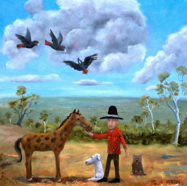 Helen Norton Man And His Horse 8 500