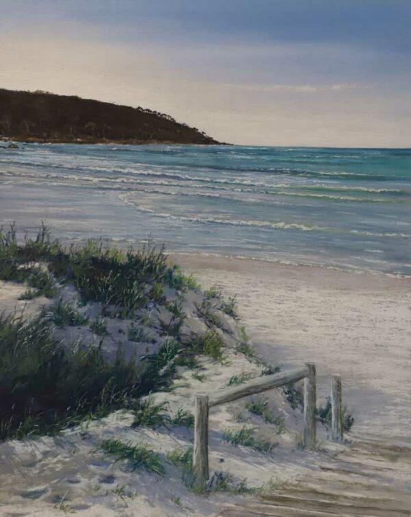 Ann Steer Morning Light Bunker Bay Painting