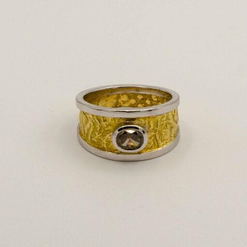 Argyle Champagne Diamond Ring Soklich