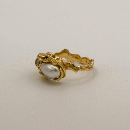 Broome Keshi And Diamond Ring Soklich