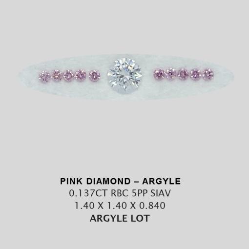 Pink Pp Argyle Pink Diamond Loose Stones