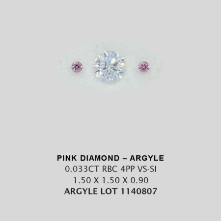 Pink Pp Argyle Pink Diamond Loose Stones 1