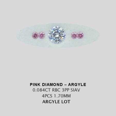Pink Pp Argyle Pink Diamond Loose Stones 12