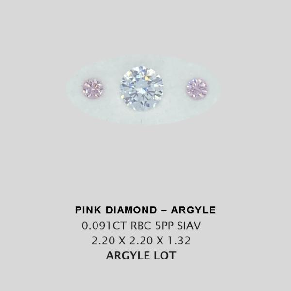 Pink Pp Argyle Pink Diamond Loose Stones 3